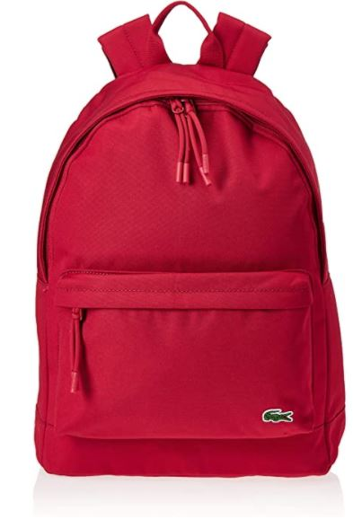 Sac a dos Lacoste homme NH2677me rouge