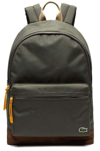 Sac a dos Lacoste homme Neocroc vert foret