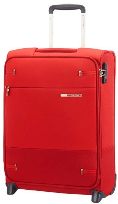 bagage cabine souple Samsonite Base Boost rouge