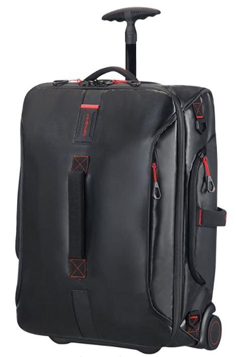 bagage cabine souple Samsonite Paradiver noir