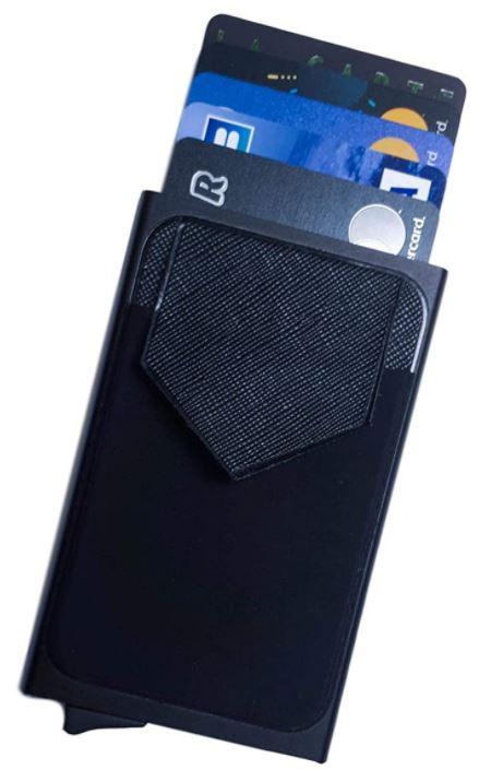 porte carte anti fraude RFID en metal