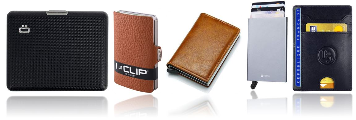 porte cartes anti fraude RFID comparatif