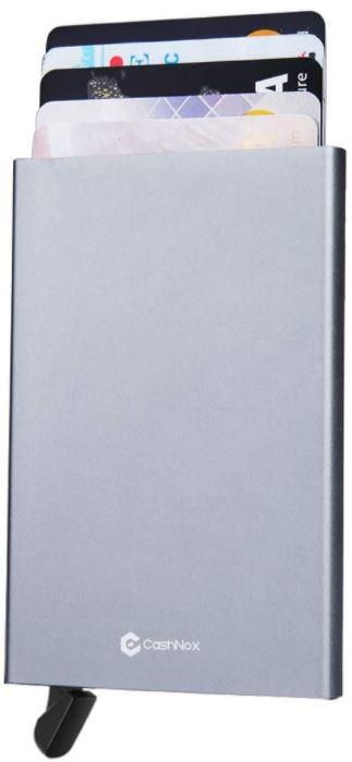 portefeuille porte carte blocage RFID en aluminium
