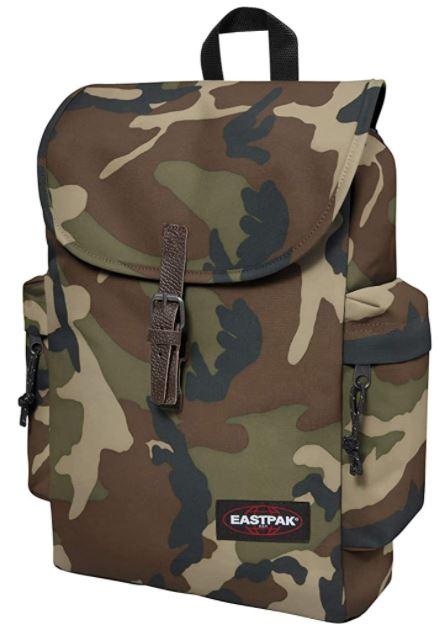 sac a dos Eastpak Austin camouflage militaire