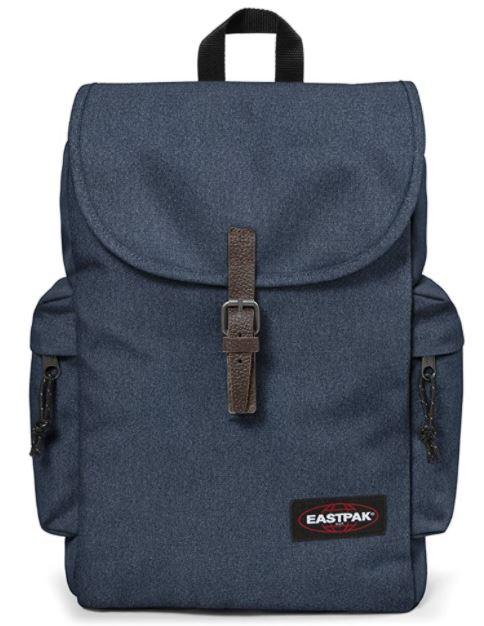 sac a dos Eastpak Austin gris bleu double denim