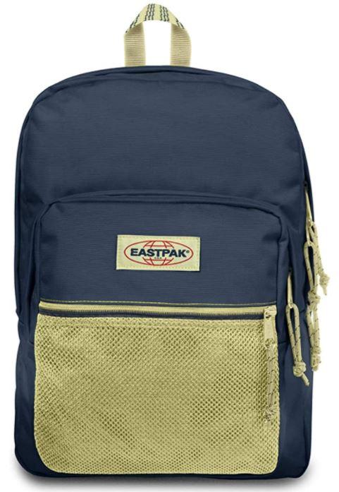sac a dos Eastpak Pinnacle bleu et beige
