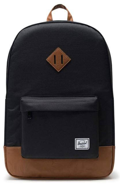 sac a dos Herschel heritage noir