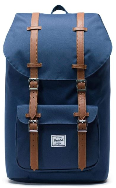 sac a dos Herschel little america bleu navy