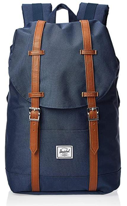 sac a dos Herschel retreat bleu marine