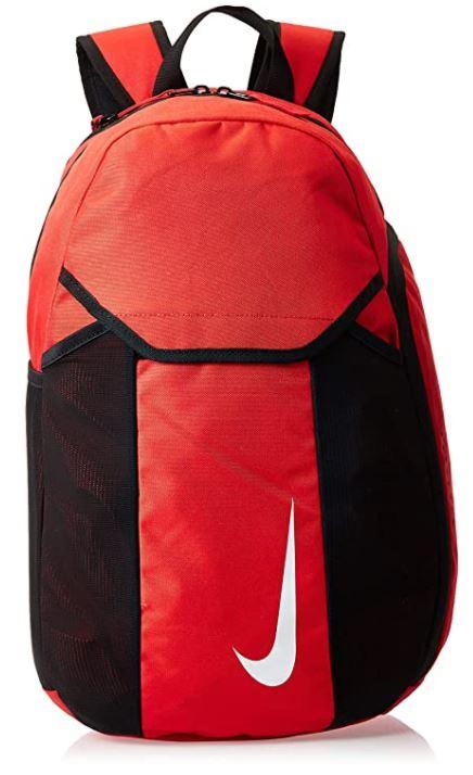 sac a dos Nike academy team rouge et noir