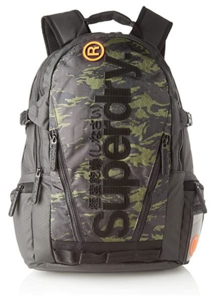 sac a dos Superdry Camo tarp backpack camouflage militaire