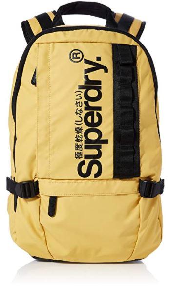 sac a dos Superdry Slim Line Trap jaune