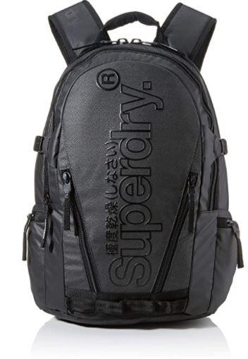 sac a dos Superdry Tarp Backpack gris