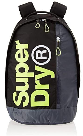 sac a dos Superdry academy Freshman noir et gris