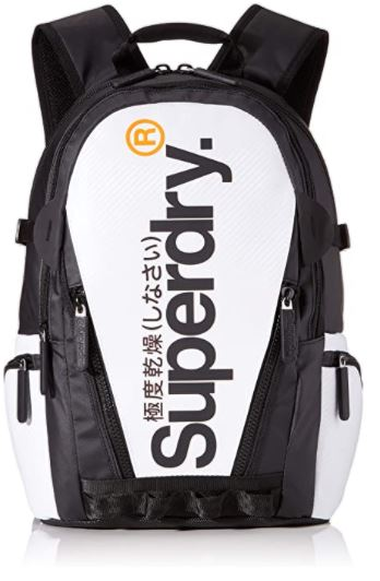 sac a dos Superdry white Tarp Backpack