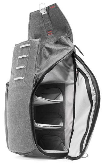sac a dos de photographe Peak Design 30L gris