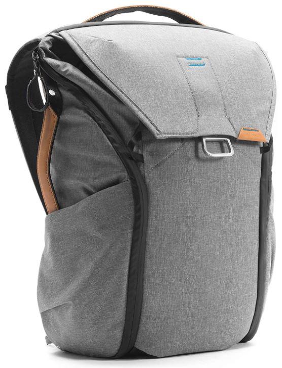 sac a dos de photographe Peak Design everyday gris