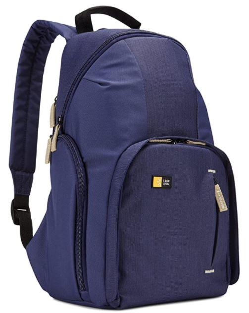 sac a dos de photographe case logic reflex bleu