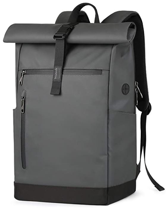 sac a dos impermeable inateck gris fonce
