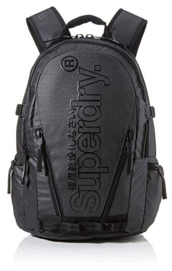 sac a dos masculin noir de la marque Superdry