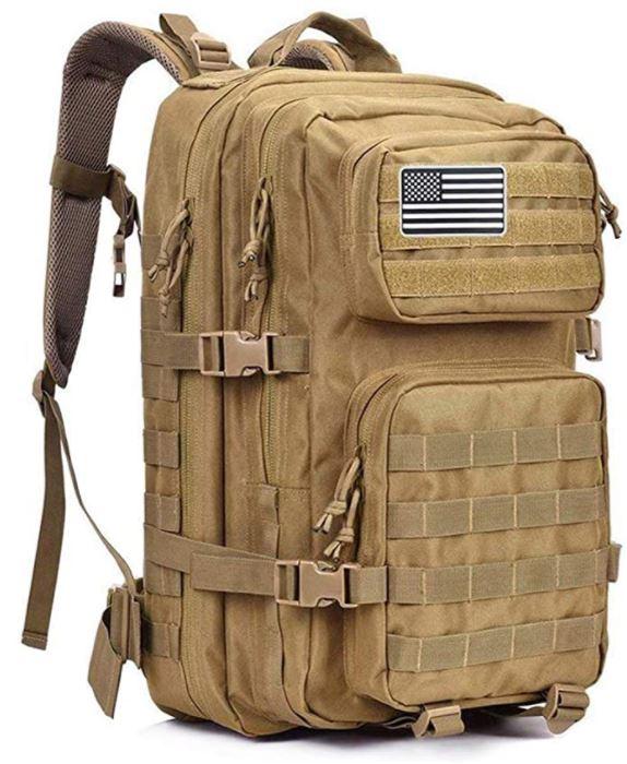 sac a dos militaire 40 litres sable camouflage desert