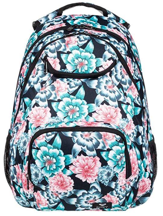 sac a dos pour femme Roxy Shadow Swell fleurs de couleur