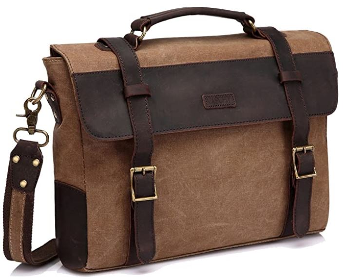 sac masculin en bandouliere porte document vintage en cuir
