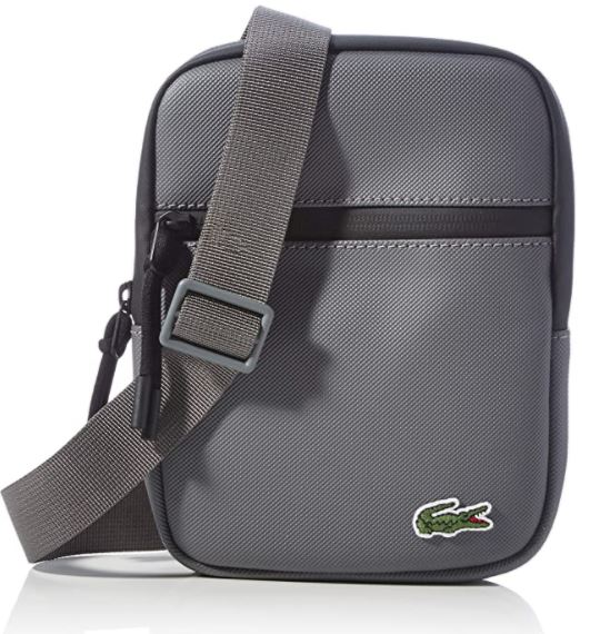 sacoche Lacoste homme NH3307 grise