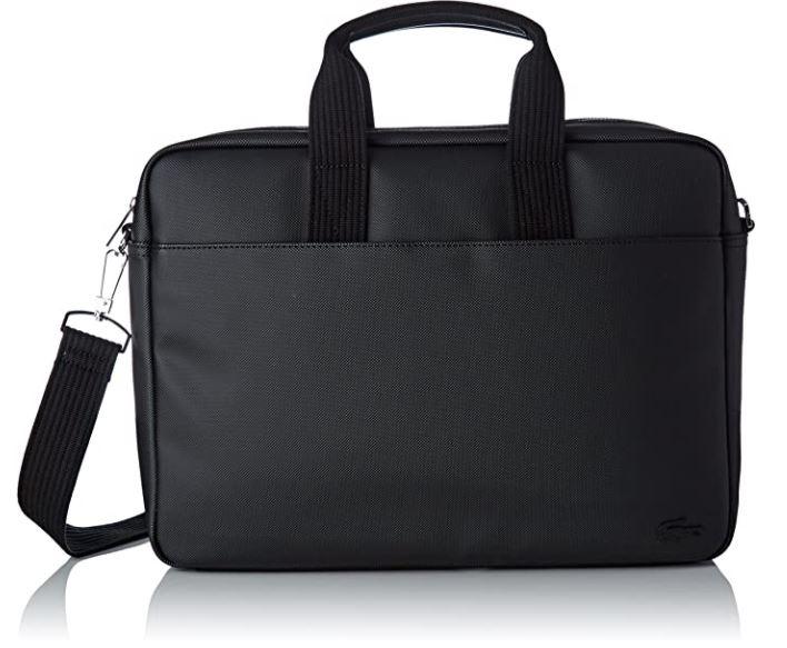sacoche pc portable lacoste noire