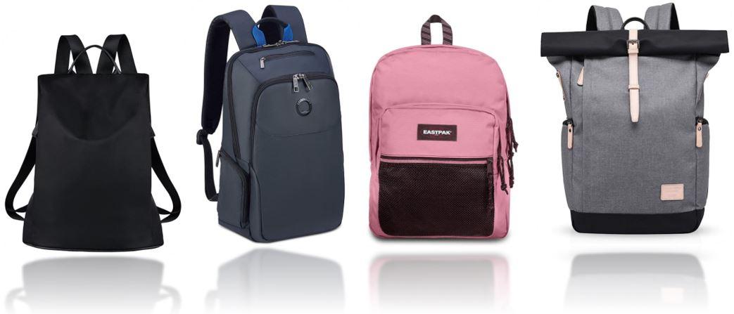 sacs a dos de voyage feminin comparatif