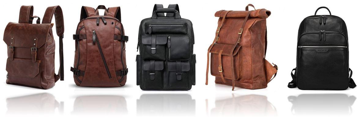 sacs a dos en cuir homme le comparatif