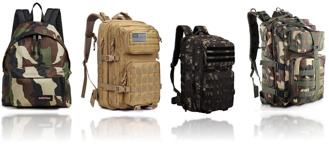 sacs a dos militaire tactique comparatif