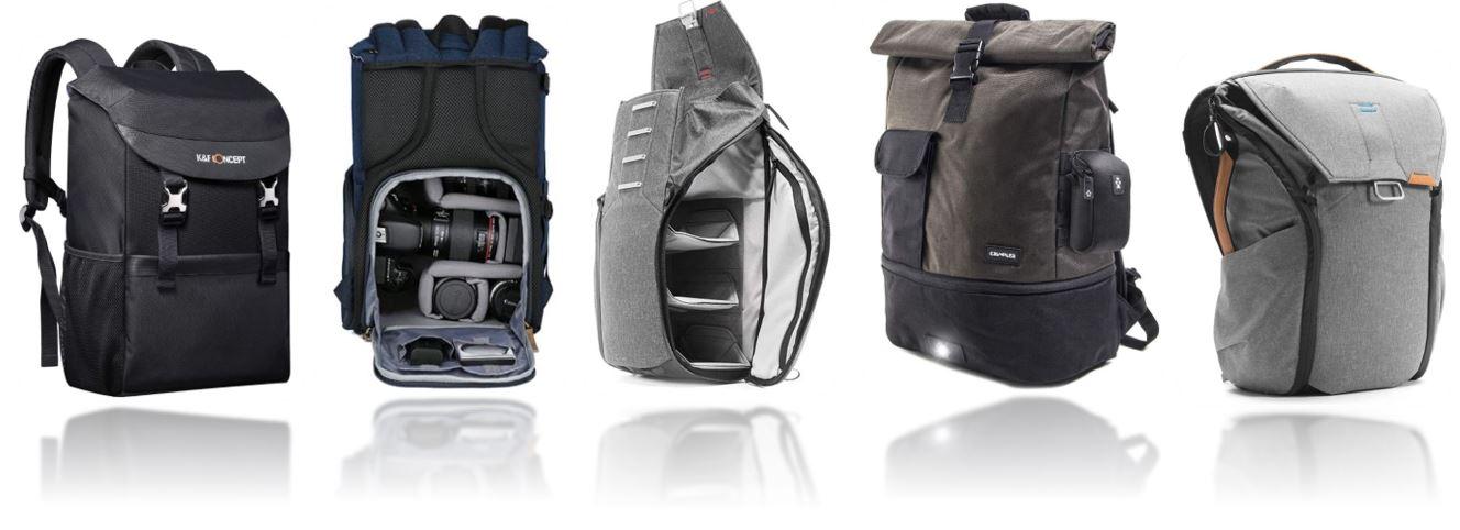 sacs a dos pour appareil photo comparatif