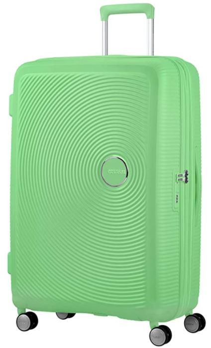 valise american tourister soundbox spinner verte claire