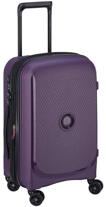 valise cabine Delsey Belmont plus violette