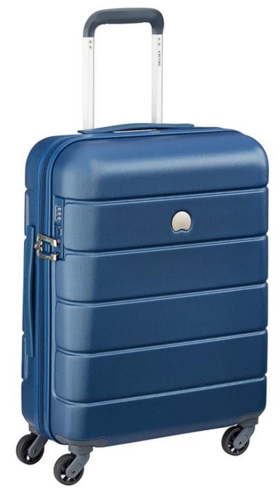 valise cabine Delsey Paris Lagos bleu clair