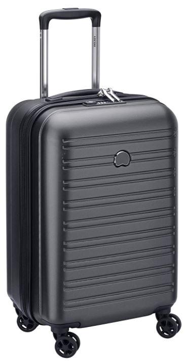 valise cabine Delsey Paris Segur couleur noir