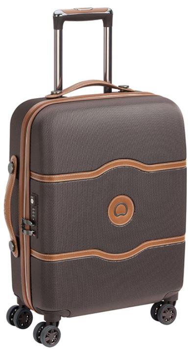 valise cabine Delsey Paris chatelet air marron