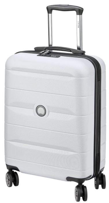 valise cabine Delsey Paris comete gris argent