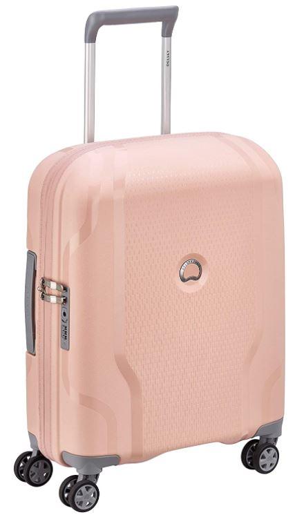 valise cabine Delsey modele Clavel rose