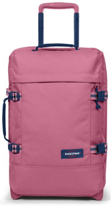 valise cabine Eastpak Tranverz rose