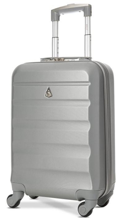 valise cabine rigide pas cher Aerolite grise