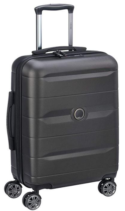valise cabine rigide pas cher Delsey Comete noir