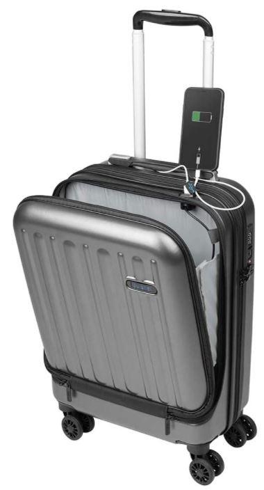 valise cabine rigide pas cher Sulema grise