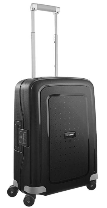 valise cabine rigide pas cher samsonite Scure spinner noir