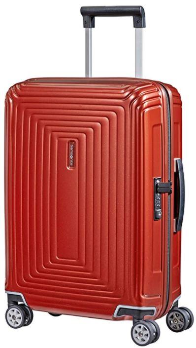 valise cabine rigide samsonite Neopulse spinner rouge
