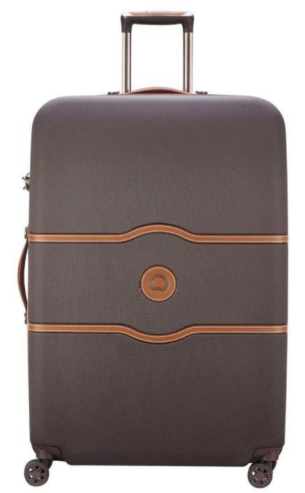 valise delsey paris chatelet air marron chocolat