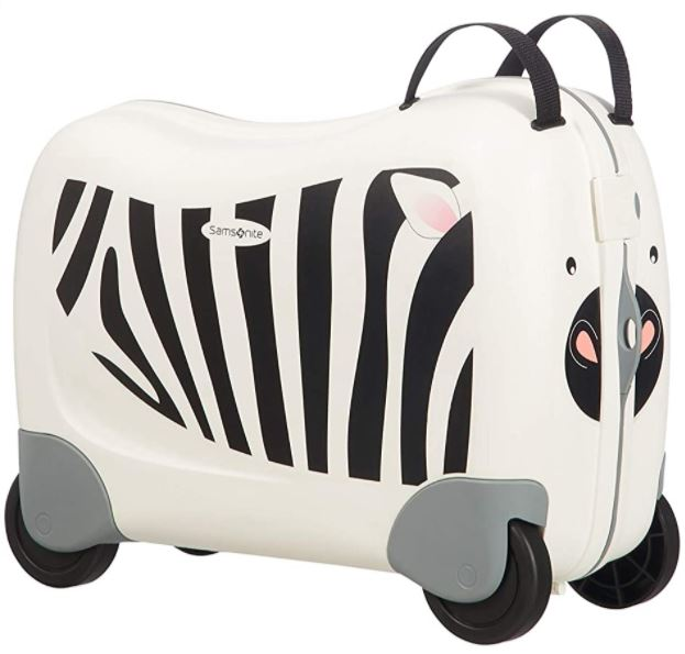 valise enfant Dream rider zebre de Samsonite