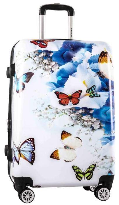 valise madisson papillon fleuris pour fille