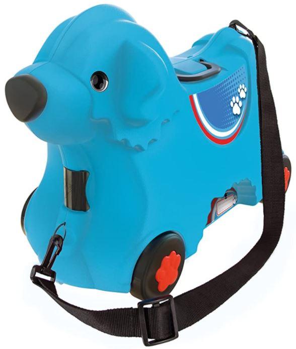 valise pour enfant bobby le chien bleu de Smoby